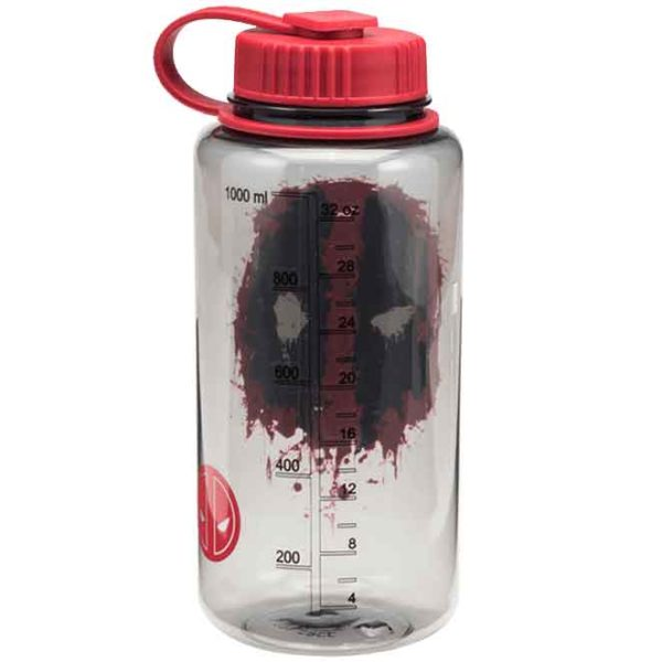 Marvel Deadpool Tritan Water Bottle