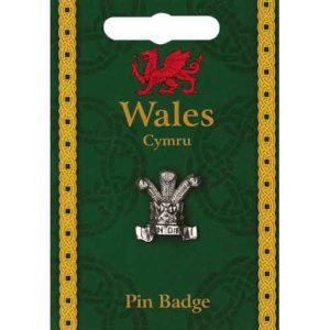 Prince of Wales Feathers Pin Badge