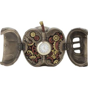 Steampunk Mechanicus Apple Clock
