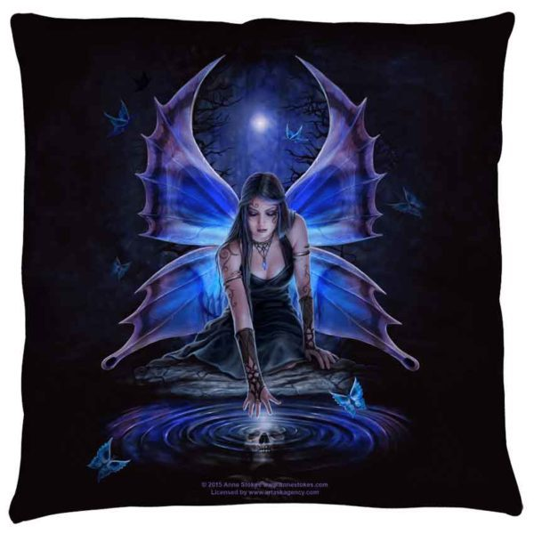 Small Anne Stokes Immortal Flight Pillow