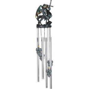 Armoured Sword Dragon Wind Chime