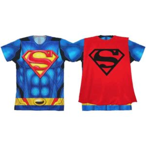 Superman Youth Sublimated Caped T-Shirt