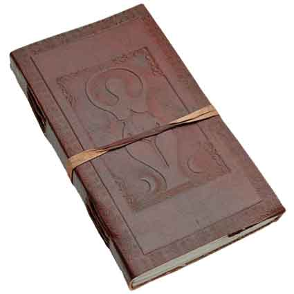 Goddess Leather Journal with String