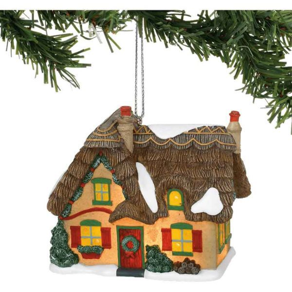 Brookshire Cottage Ornament - Dickens Village by Department 56