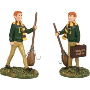 Fred and George Weasley - Harry Potter Village by Department 56