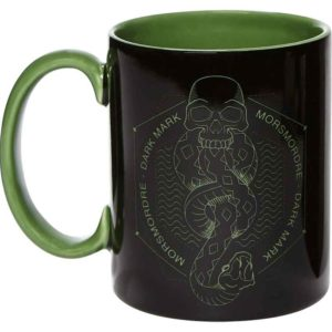 Black and Green Dark Mark Mug