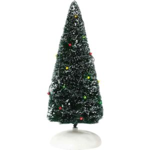 Twinkle Brite Frosted Topiary - Christmas Village Trees by Department 56