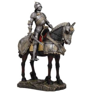 Knight on Horseback Statues