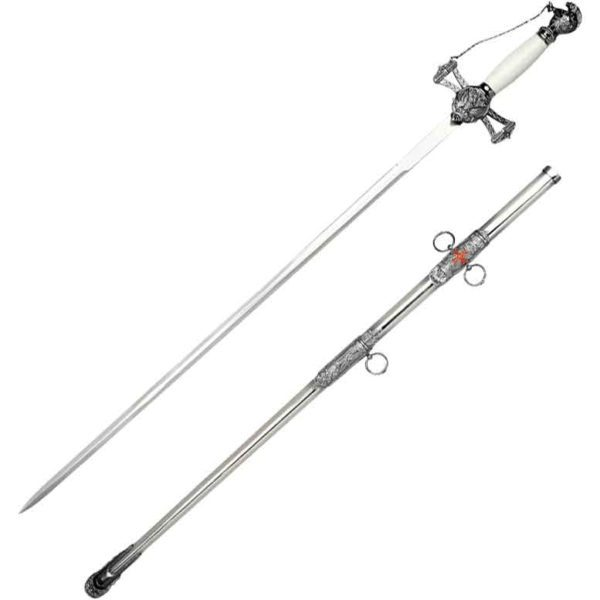 Knight of St John Sword with Scabbard
