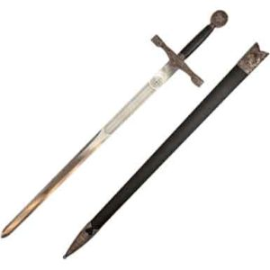 Silver Dragon Excalibur Short Sword