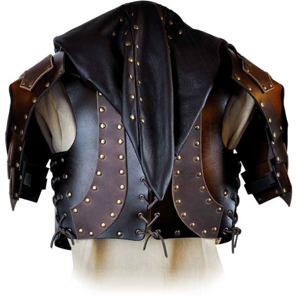 Outlaw Female Torso Armor With Hood