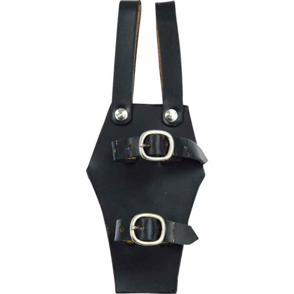Black Double Strap Frog