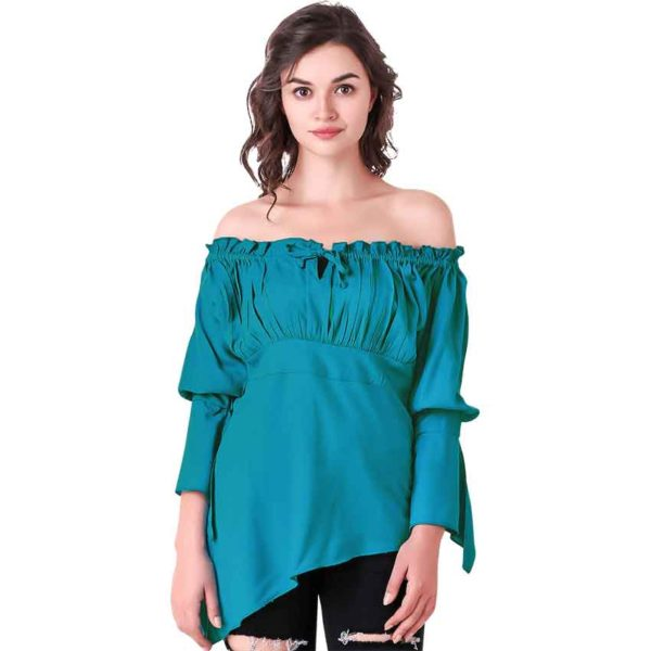 Felicia High-Low Medieval Blouse
