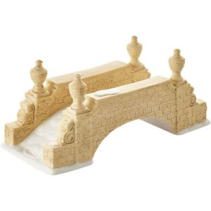 Tudor Gardens Footbridge - Village Wall, Fences, and Streets by Department 56
