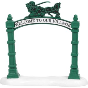 Village Archway - Christmas Village Accessories by Department 56