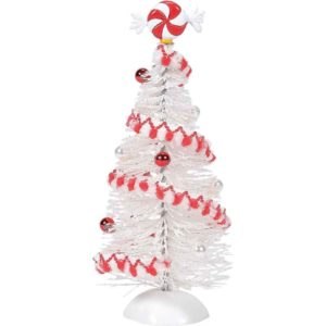 Peppermint White Sisals - Christmas Village Trees by Department 56