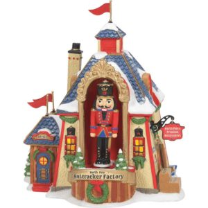 North Pole Nutcracker Factory - North Pole Series by Department 56