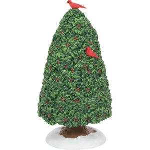 Holiday Holly Tree - Christmas Village Trees by Department 56