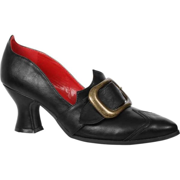 Buckled Solstice Witch Shoes