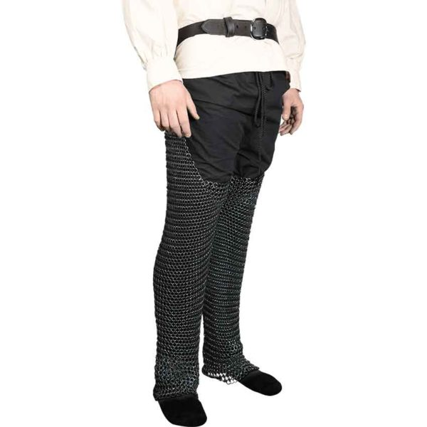 Blackened Butted Chainmail Leggings