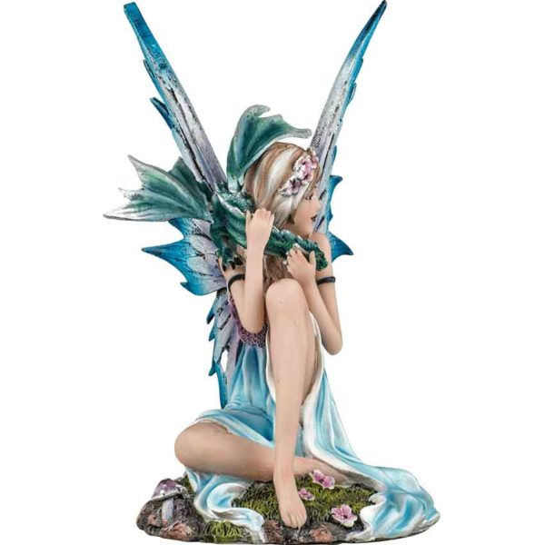 Spring Fairy with Dragon Statue