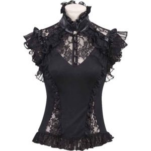 Gothic Sweetheart Lace Top