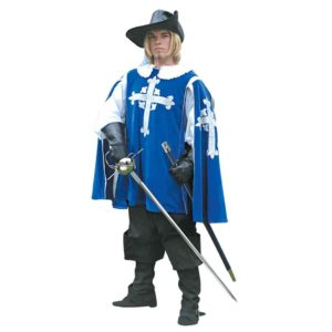 Mens Blue Musketeer Outfit