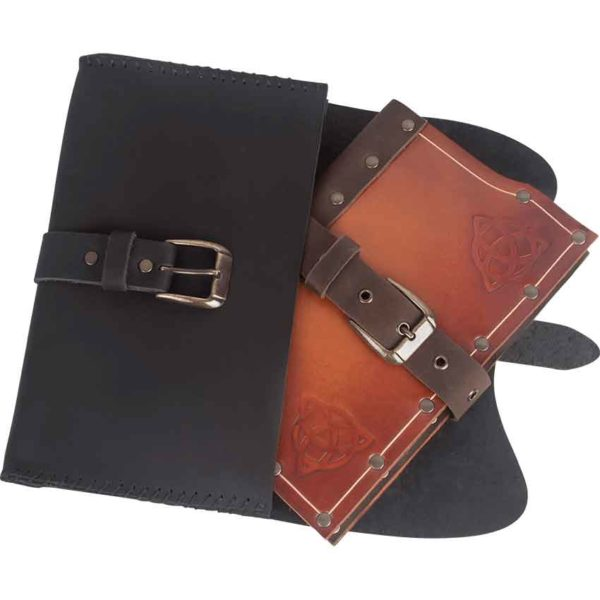 Leather Spellbook Pouch