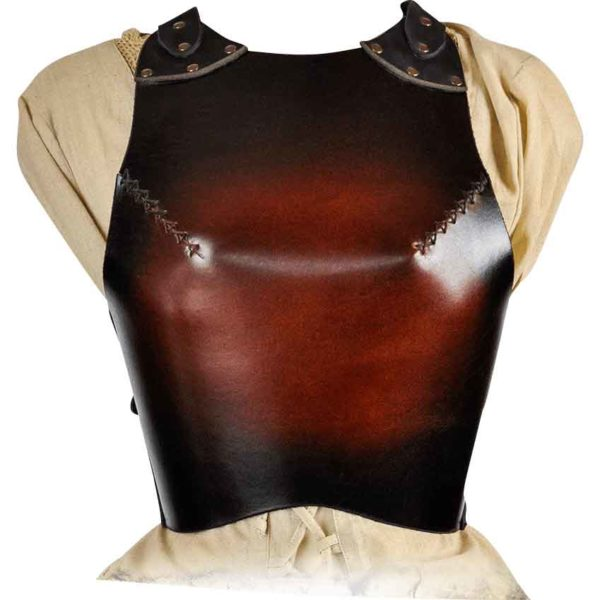 Womens Leather Breastplate
