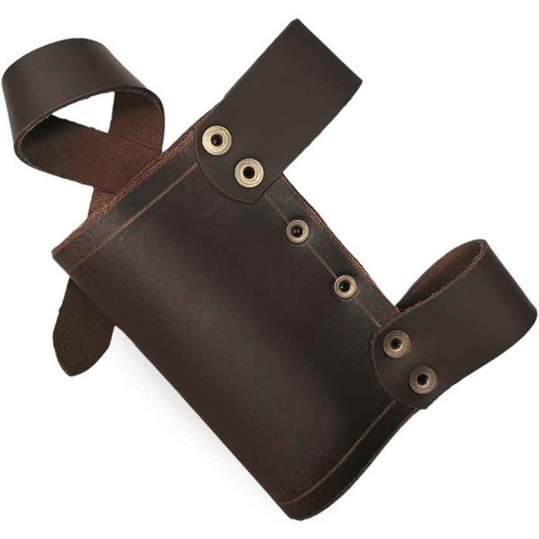 Snap Leather Dagger Scabbard
