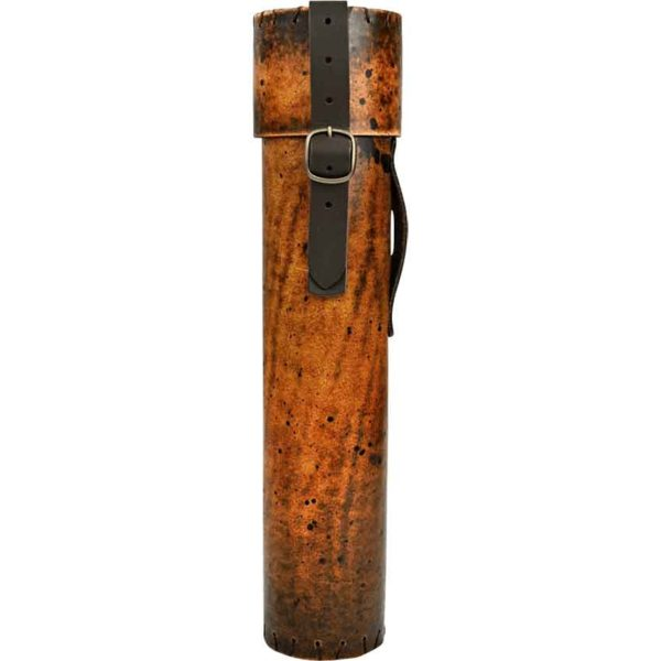 Leather Scroll Holder